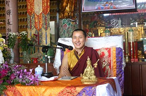 Patrul Rinpoche teaching in Malaysia
