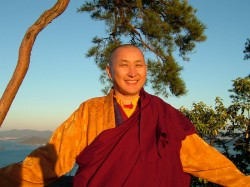 Patrul Rinpoche in Japan 2006